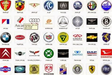 european car logos and names list sports car brands sports cars