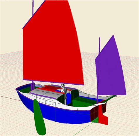 scow boat designs 16 tiny harry sailing scow small boat designs by tad