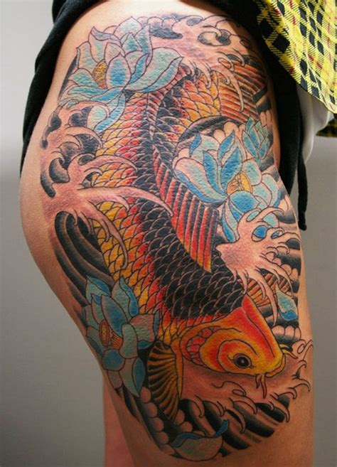 koi tattoo meaning 50 koi meaning and designs for and
