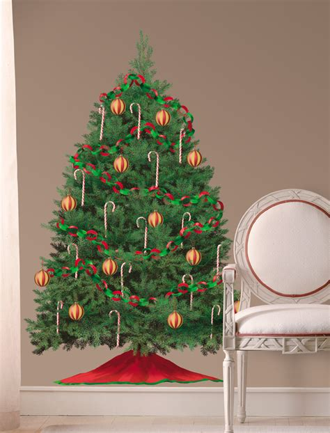 christmas tree wall decal c wall decal