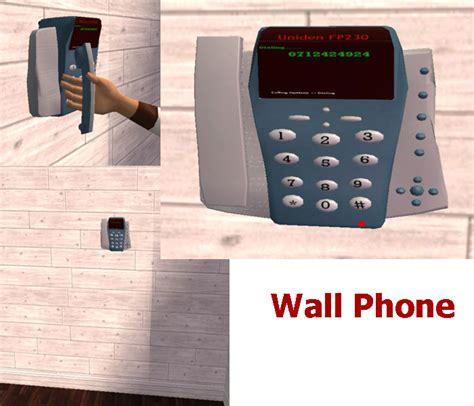 modern wall phone mod the sims modern office phones wall and table