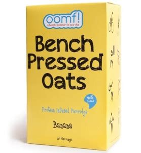 bench pressed oats review oomf benched pressed oats review high protein porridge