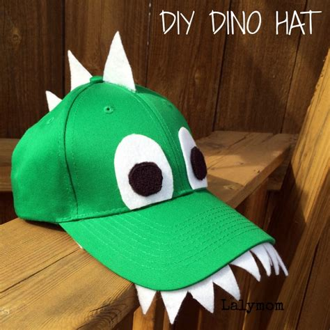 How To Make A Dinosaur Hat Out Of Paper - diy dinosaur hat crafts