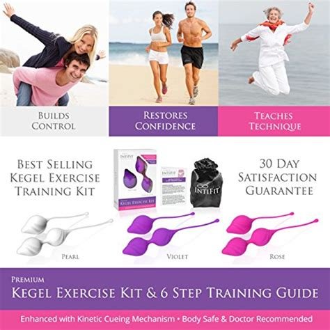 100 exercices for the pelvic floor intifit premium kegel exercise kit for