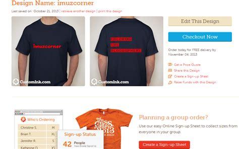 desain baju  secara  imuzcorner