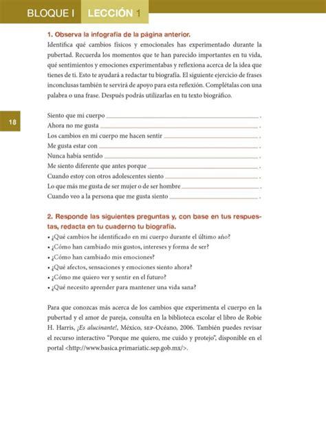 libro sep de formacion 6to libro sep 6 gradoformacion civica y etica contestado