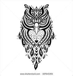 polynesian owl painting art pueo tattoos for mike