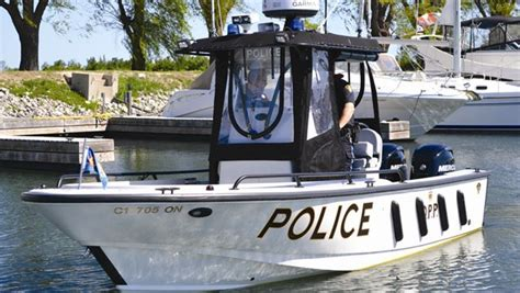 boat rental wasaga beach marine units cl down on boating offences in collingwood