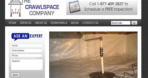 american basement solutions american basement solutions abs launches the crawl space company website