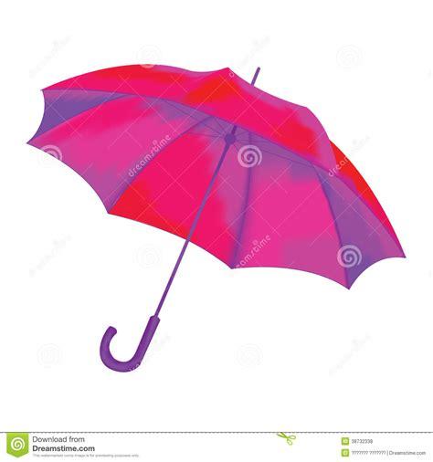 umbrella layout vector vector illustration pink umbrella royalty free stock