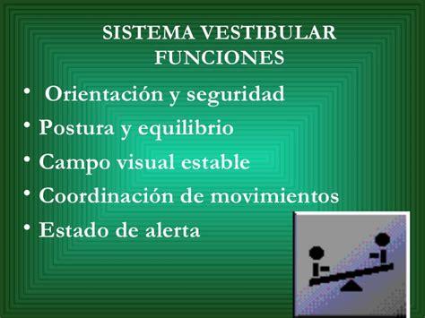 sistema vestibular propiocepcion y sistema vestibular