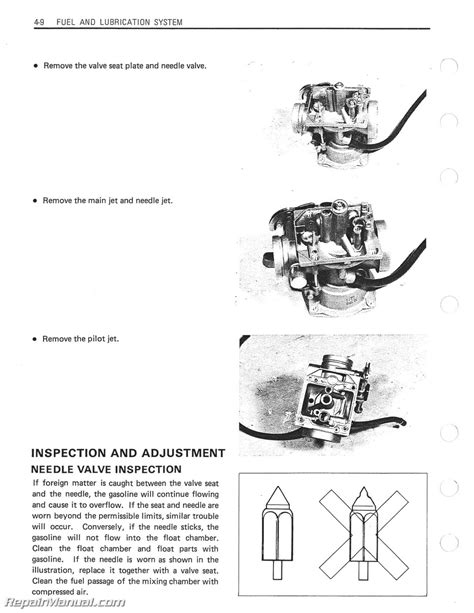 1983 1988 Suzuki Gn250 Motorcycle Service Manual Ebay