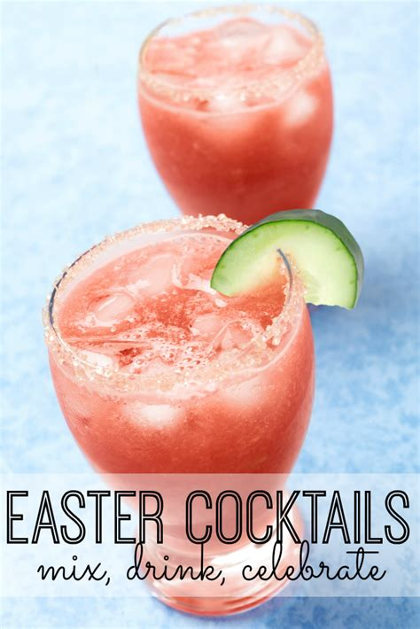 delicious easter cocktails recipes my life and kids