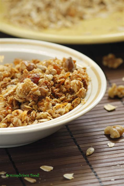 Tropical Muesli Cereal Healthy Food Healthy Breakfast muesli yet again a healthy breakfast cereal scrumplicious food