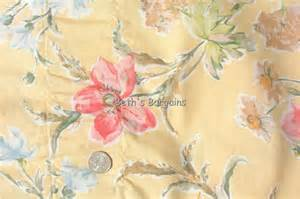 laura ashley poppy curtains 2 laura ashley yellow poppy meadow valance curtain ex ebay