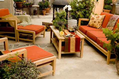 how to stain patio furniture outdoortheme