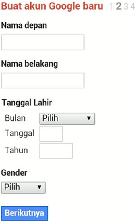 buat akun lewat gmail buat email baru di gmail lewat hp daftar akun gmail