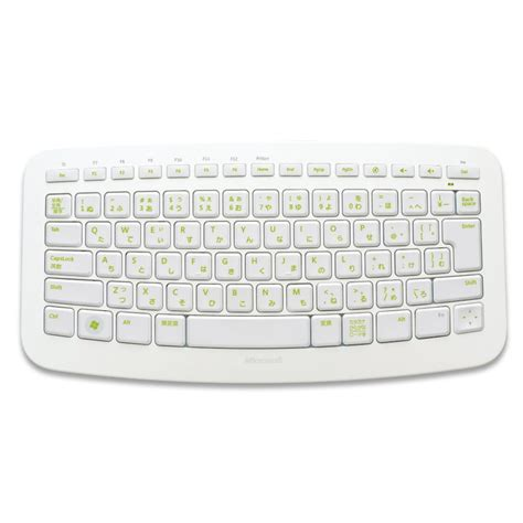 Keyboard Komputer Microsoft wireless keyboard for pc and xbox 360 microsoft arc white