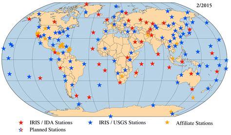 on map iris gsn maps