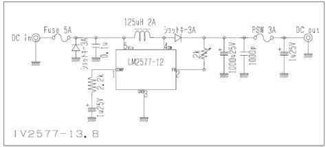 Charger 2a By Waroeng Elektronik 9v to 13 8v dc dc converter circuit lm2577 electronics
