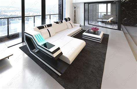 Luxury L Shaped Sofa by Luxury Sectional Sofa L Shape With Led And Usb