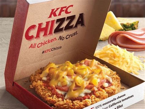 kentucky fried pensions 2018 books kfc launches mashup of pizza fried chicken chizza for