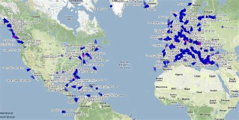 cruise ship tracker / tracking map live cruisin