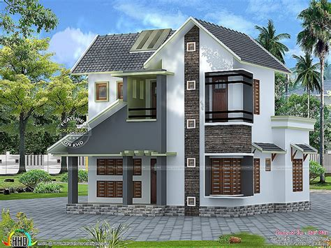 low cost home design house plan lovely single storied kerala house plans