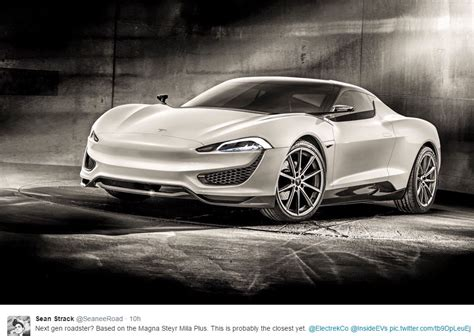 Tesla Roadstr Next Tesla Roadster Rendered