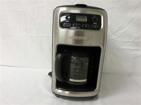 Farberware 12 Cup Coffee Maker 103744 Black   eBay