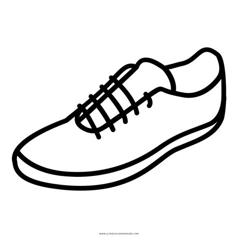imagenes para pintar zapatillas dibujo de zapatillas para colorear ultra coloring pages