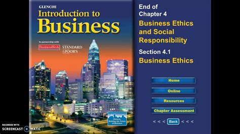 Introduction To Business Edisi 4 introduction to business business ethics social responsibility chapter 4 presentation lectu