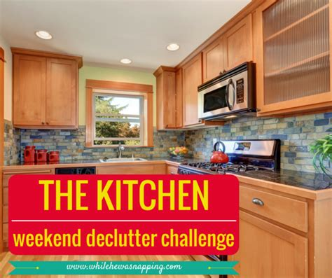 the minimalist kitchen declutter your kitchen the kitchen declutter challenge you can do in a weekend