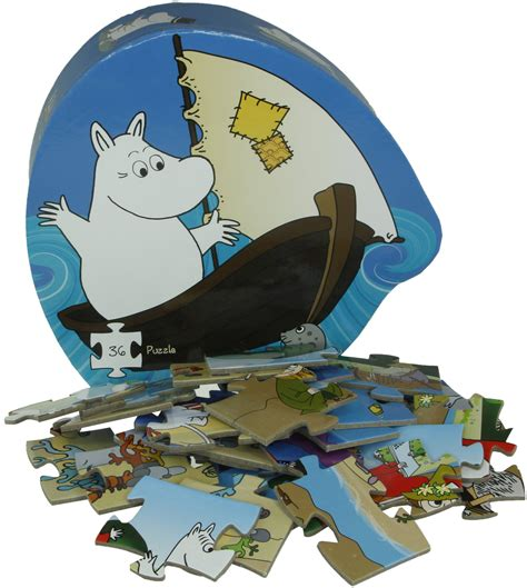 Moomin And The Sea barbo toys deco puzzle moomin and the sea 187 moomin products