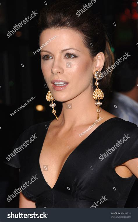underworld film heroine name actress kate beckinsale world premiere her stock photo