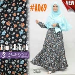 Anissa Maxi Busana Muslim baju gamis katun anissa a069 busana muslim umbrella modis