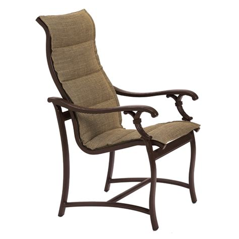 Sling Patio Furniture Ravello Padded Sling Patio Furniture By Tropitone Family