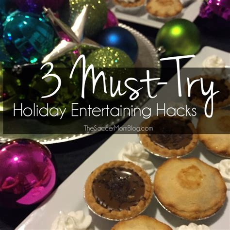 Entertaining Hacks | holiday entertaining hacks for an amazing and easy party