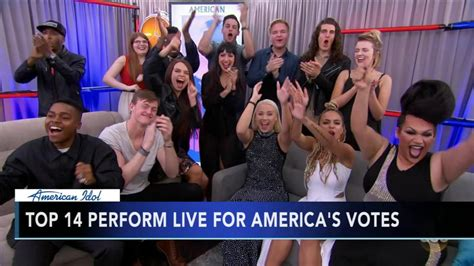Four Voted American Idol by Philadelphia 4 Singers American Idol Top 14