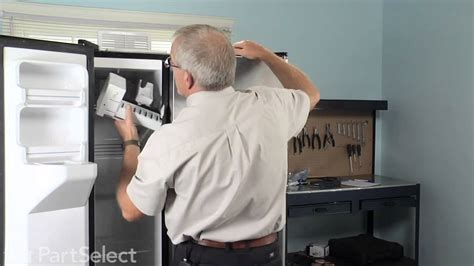 ge profile refrigerator fan not working refrigerator freezer repair replace ice maker kit ge