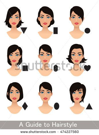 shapes of heads with haircuts that fit them types of face shapes female www pixshark com images