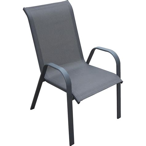 Patio Chairs Bunnings Marquee Steel Sling Chair Bunnings Warehouse