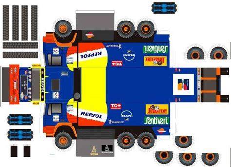 todorecortables sue os de papel coches y camiones recortables papercraft racing trucks todorecortables sue 209 os de papel