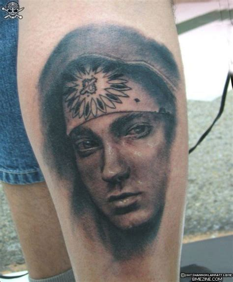 eminems tattoos design eminems tattoos