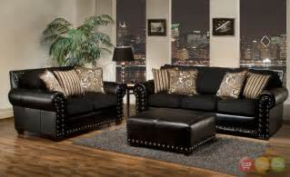 Living Room Design With Black Leather Sofa Living Room Black And White Living Room Set Living Room Furniture Sets Black And White Chairs