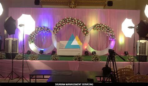 Wedding Decoration at Raja Rajeshwari Mandapam