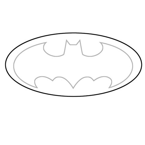 batman symbol template batman logo stencil cake ideas and designs