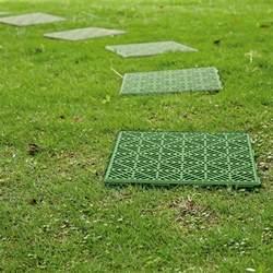 Plastic Patio Pavers 4 X Interlocking Plastic Garden Path Floor Tiles Lawn Paving Walkway Patio Green Ebay