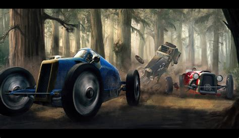 design art racing classic car race by alexjjessup on deviantart