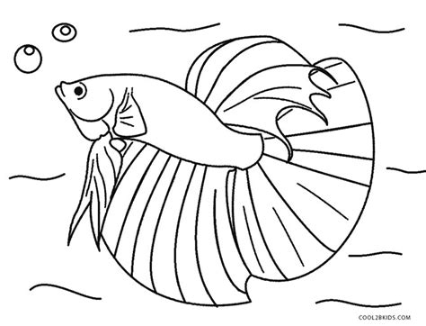 beta fish coloring sheet coloring pages